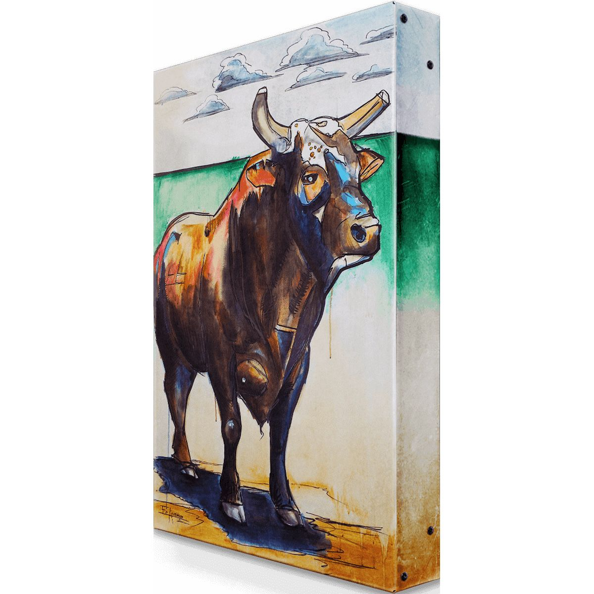 Bushwhacker Metal Wall Art - 18 x 26