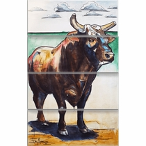 Bushwhacker Metal Wall Art - Set of 4
