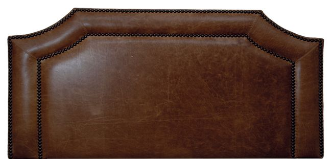Butte Leather Headboard - Cal King