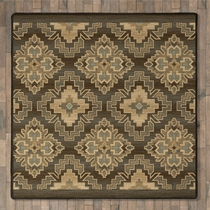 Butte Valley Rug - 8 Ft. Square
