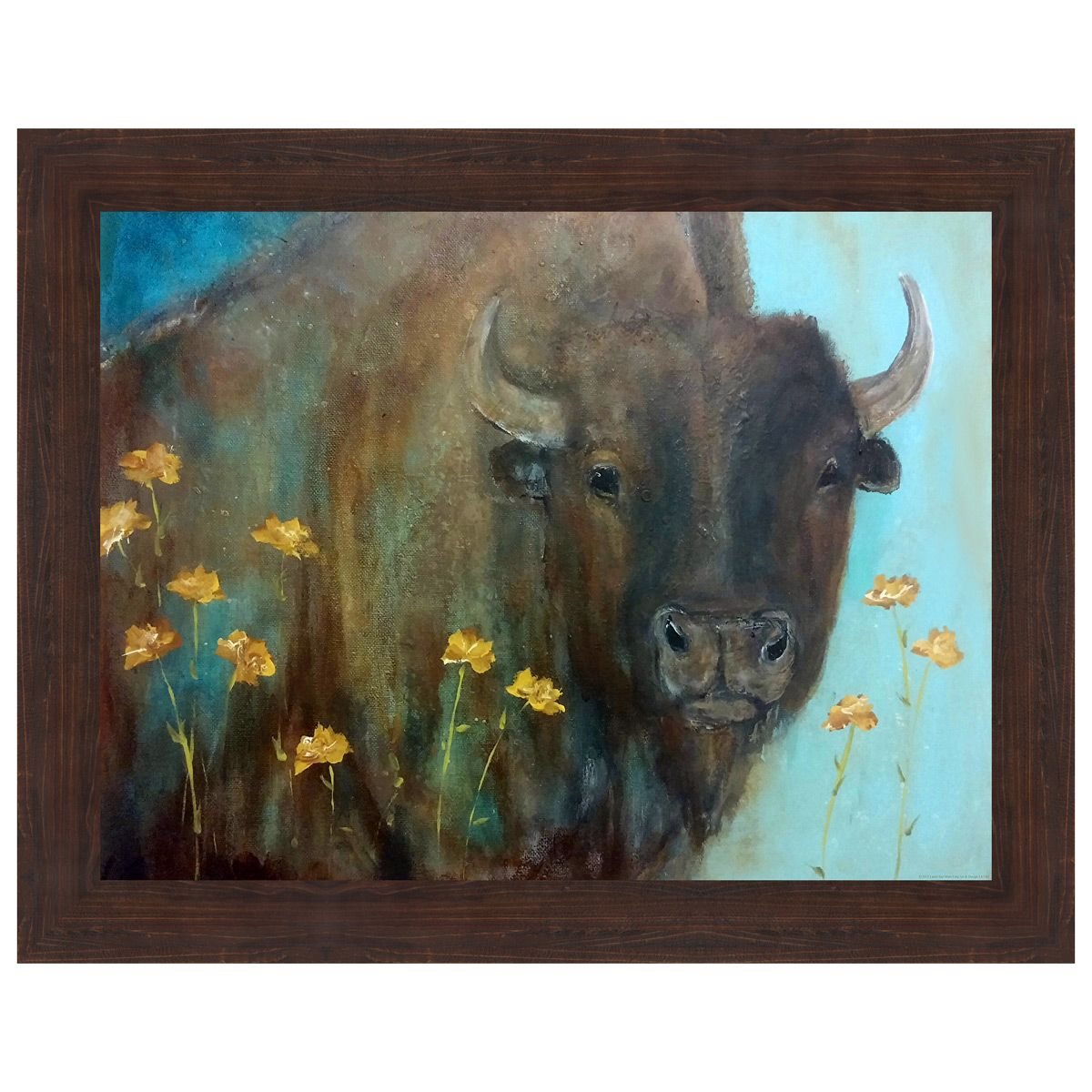 Buttercup Framed Canvas