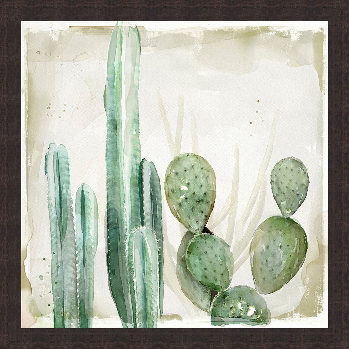 Cactus Haze II Canvas Art