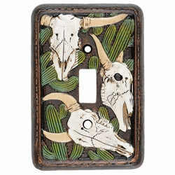 Cactus Skull Switch Covers