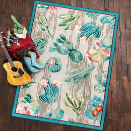 Cactus Sunrise Rug Collection