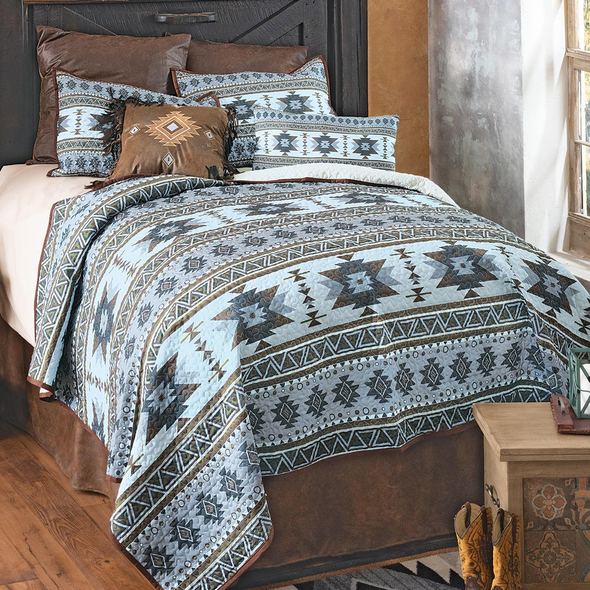 Cadence Trail Quilt Set - Queen