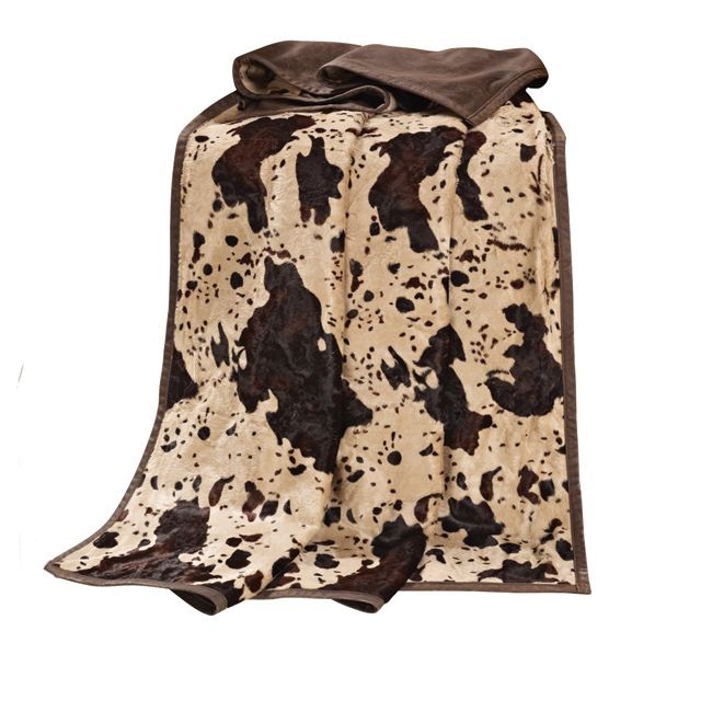 Caldwell Cowhide Throw