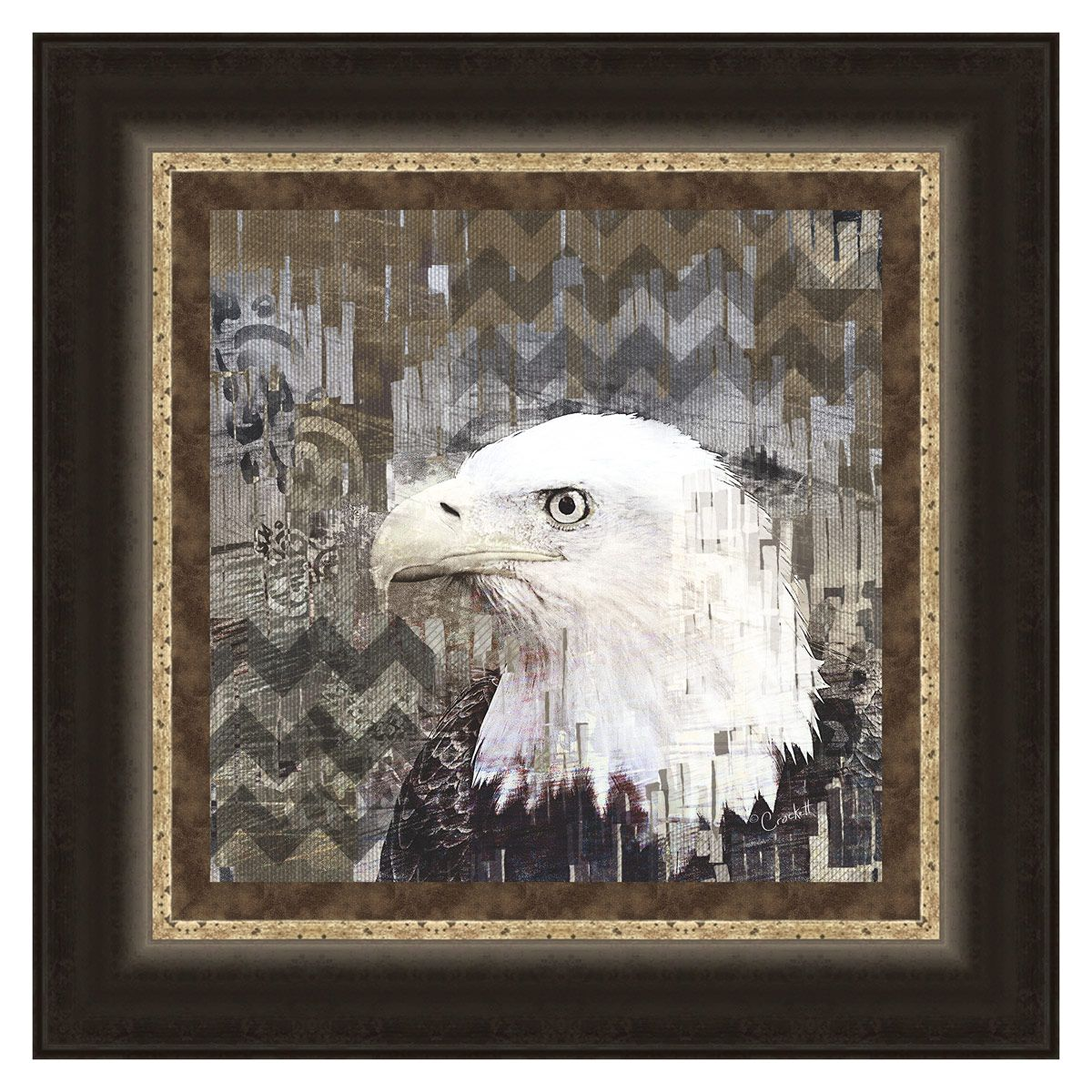 Call of the Eagle Framed Print