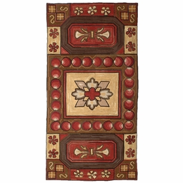 Camp Indian Point Accent Rug
