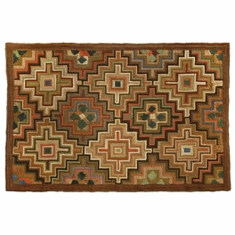 Camp Monture Hooked Cotton Rug