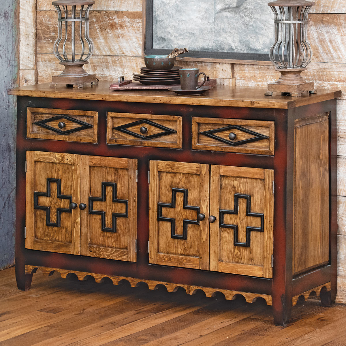 Canyon Cross Buffet/Console