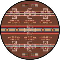 Canyon Cross Rug - 8 Ft. Round