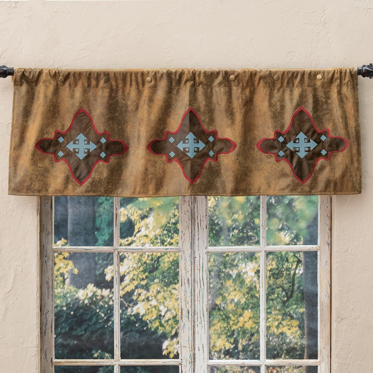 Canyon Crosses Valance - CLEARANCE