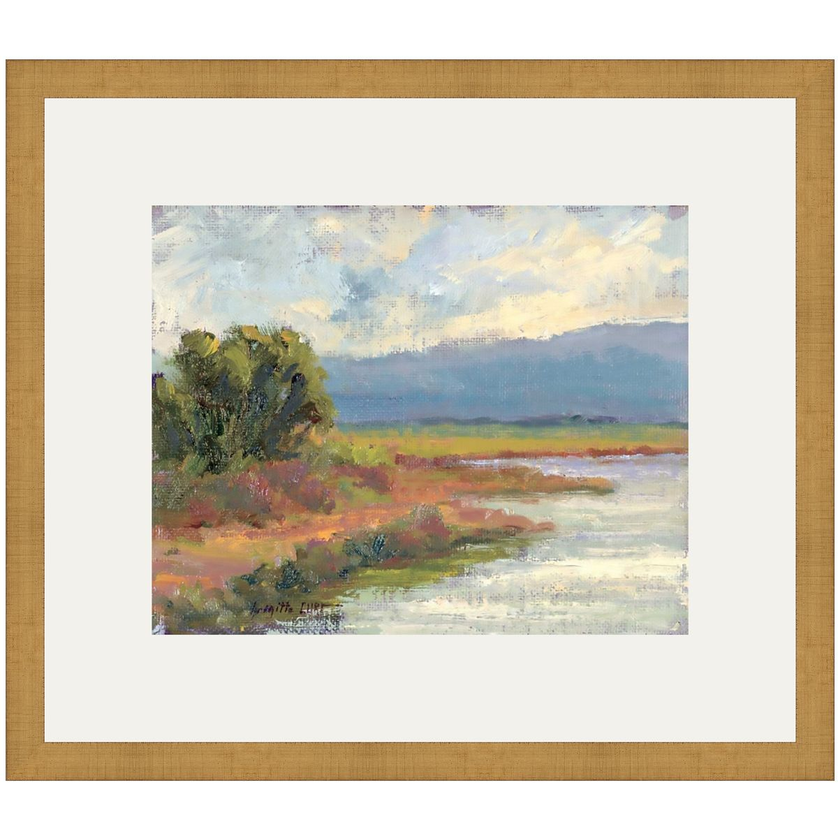 Canyon Riverbank III Canvas Art