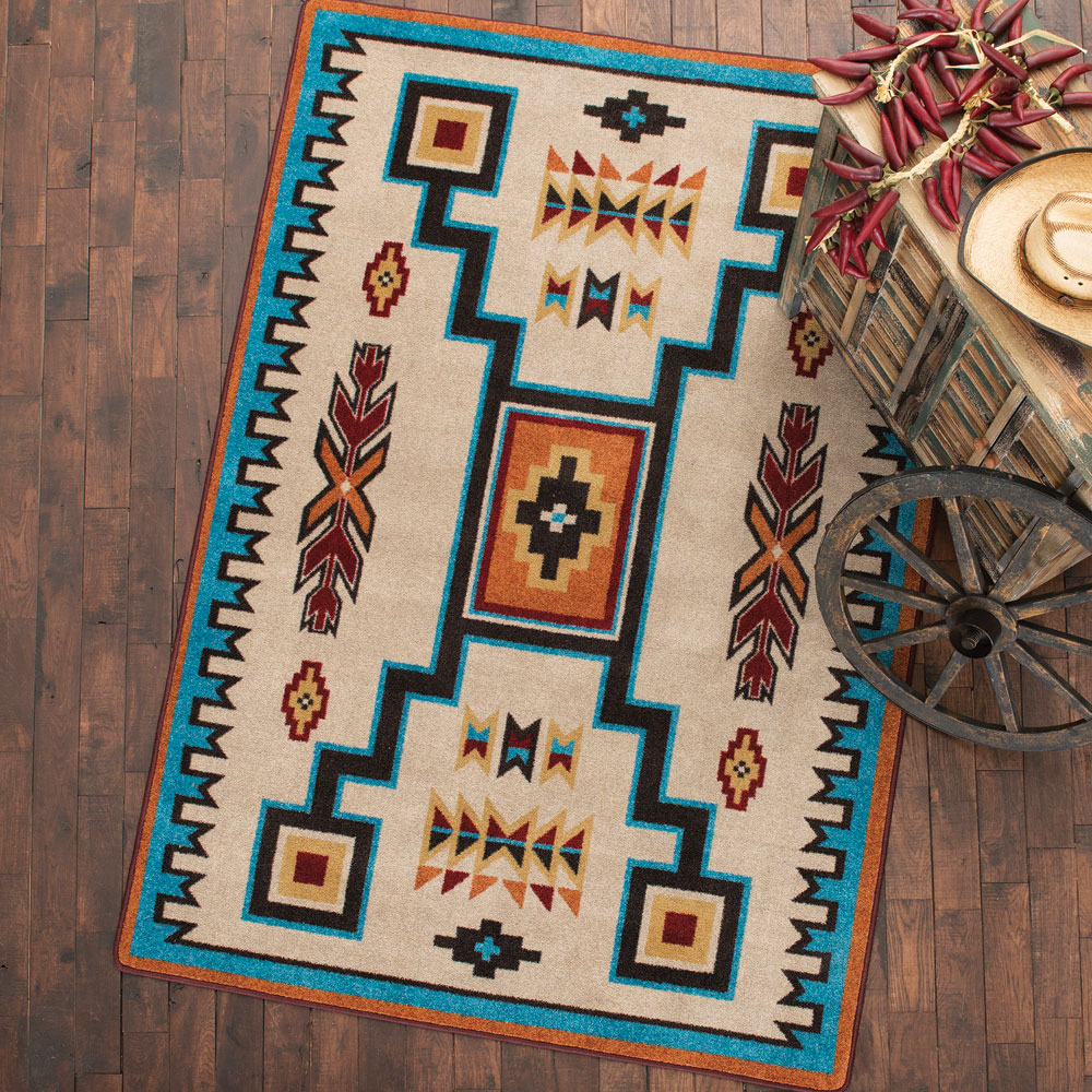 Canyon Rust Rug - 5 x 8