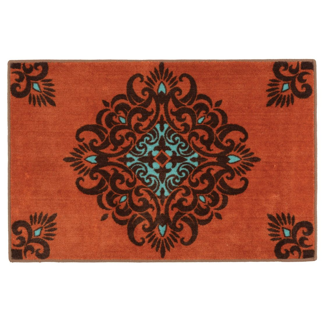 Canyon Scroll Bath/Kitchen Rug