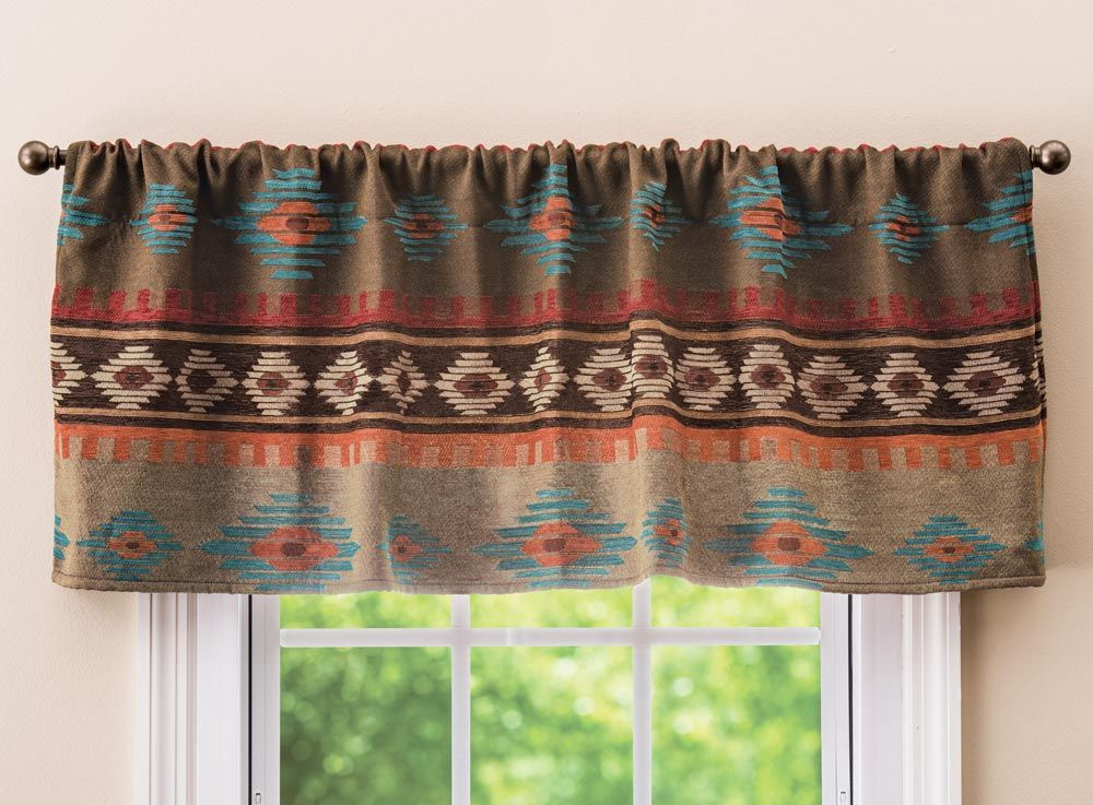 Canyon Shadows Diamond Valance