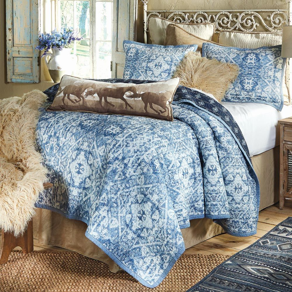 Canyon Sky Quilt Set - Twin