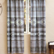 Canyon Slate Lined Drapes