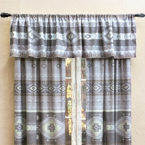 Canyon Slate Lined Valance