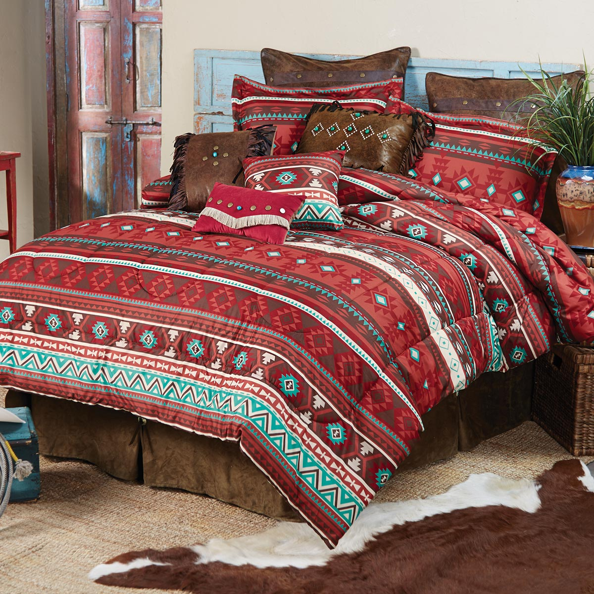 Canyon Spice Bed Set - King