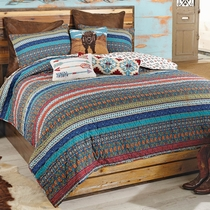 Canyon Stripes 2pc Quilt Set - Twin