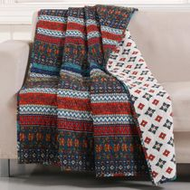Canyon Stripes Throw