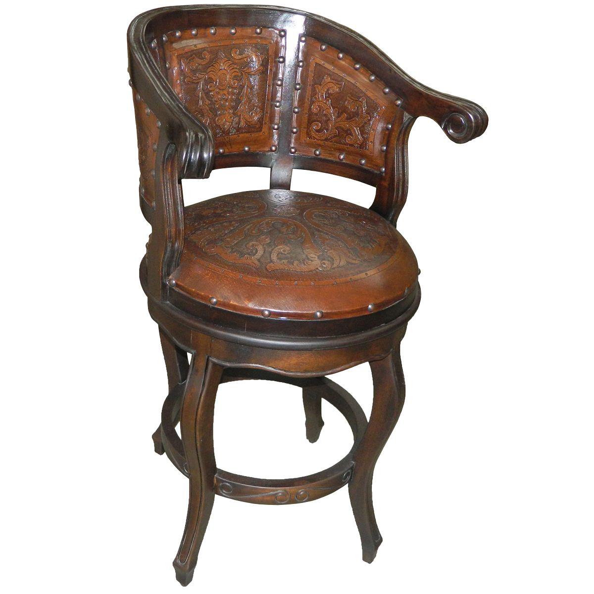 Cardenal Barstool - Colonial Antique Brown