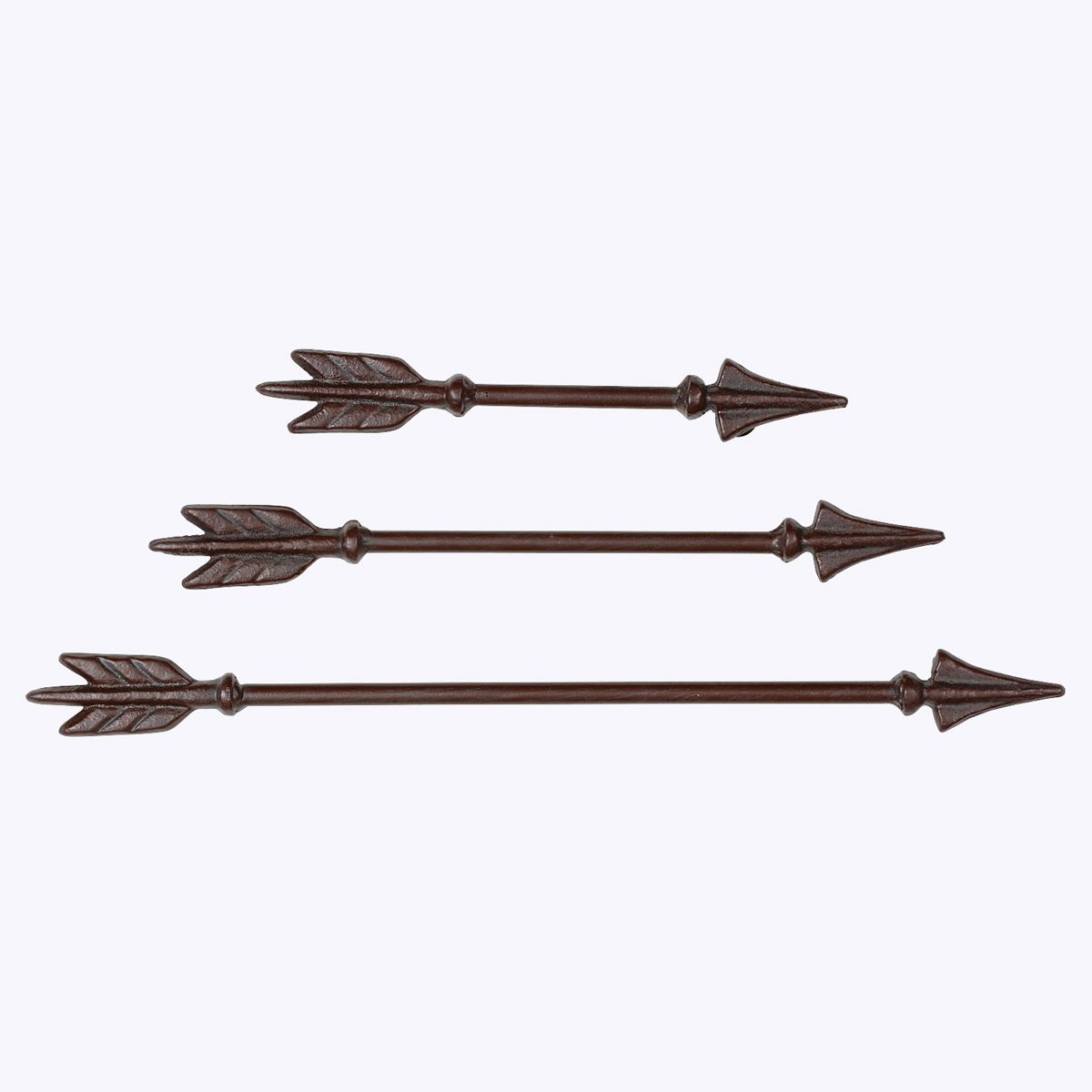 Cast Iron Arrow Wall Hanging - 3 pcs�