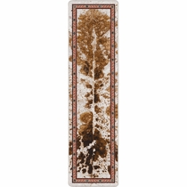 Cattle Drive Spotted Brindle Rug - 2 x 8