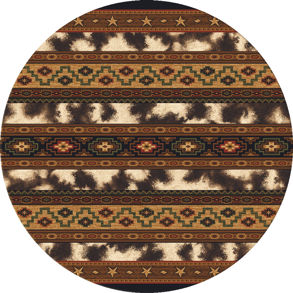 Cattlemen's Club Rug - 8 Ft. Round