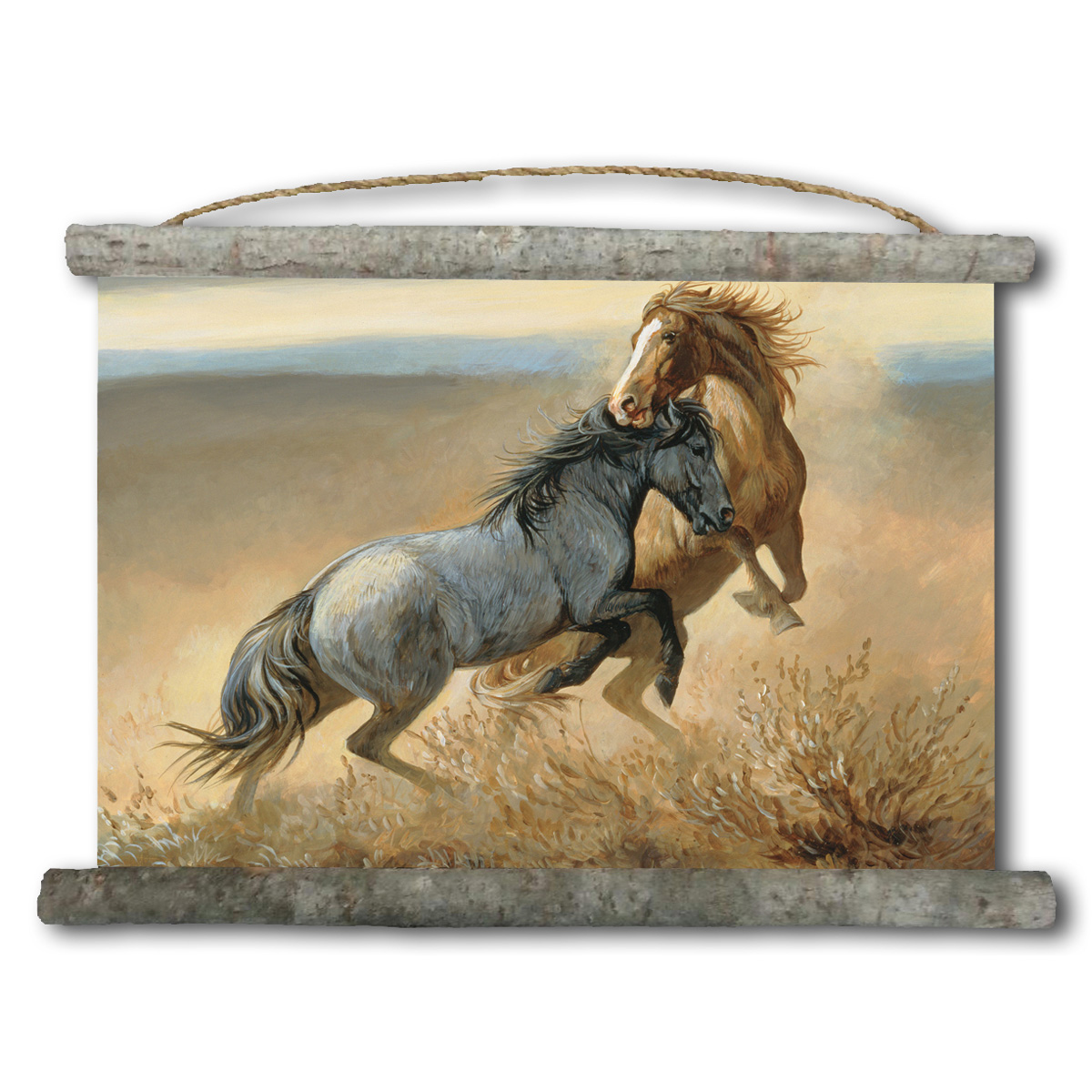 Challenged Canvas Wall Scroll