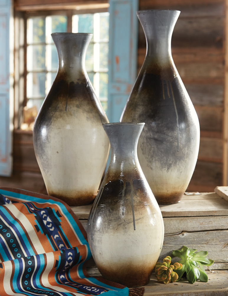 Chalote Silver Vases - Set of 3