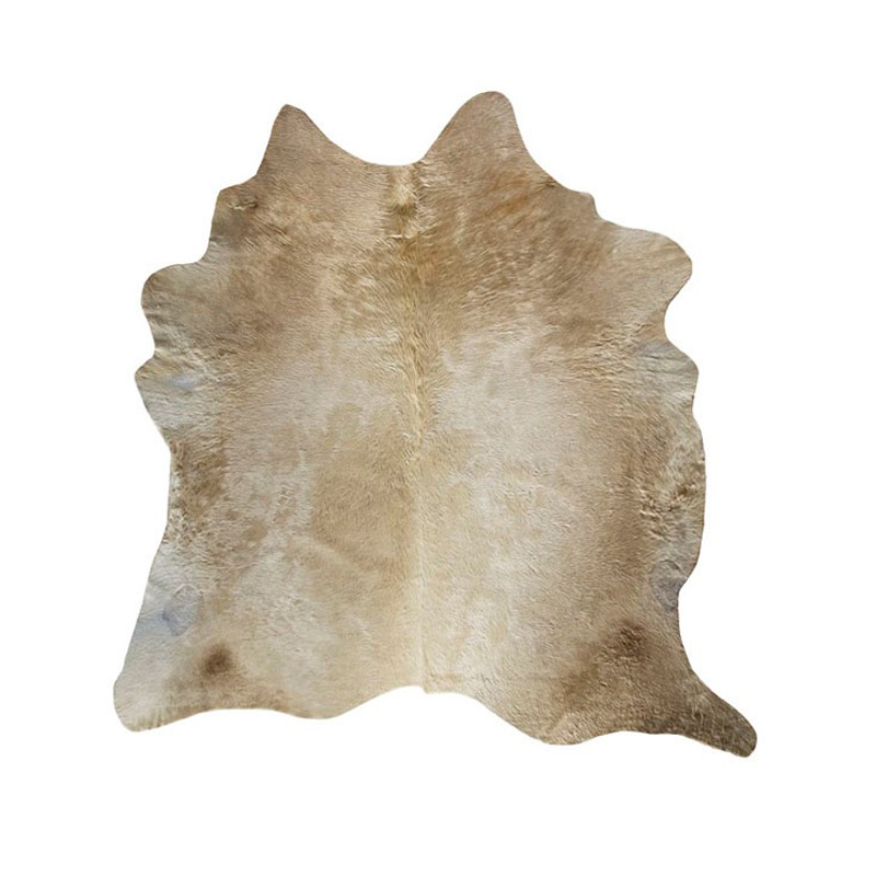 Champagne Natural Cowhide Rug - Extra Large