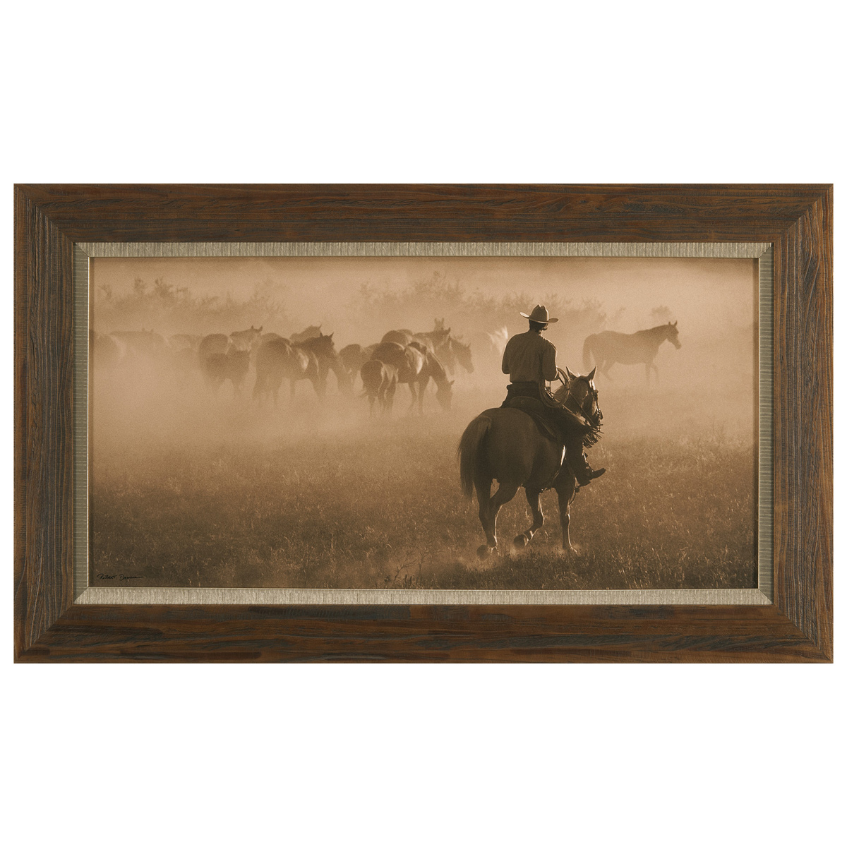 Changing Pastures Framed Canvas