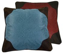 Cheyenne Red and Turquoise Reversible Euro Sham