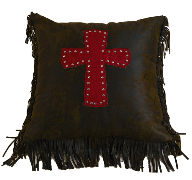 Cheyenne Red Cross Pillow