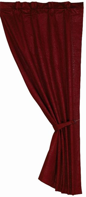 Cheyenne Red Curtain