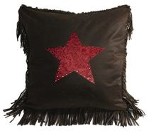 Cheyenne Red Star Pillow