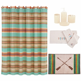 Cheyenne Stripes 21 Piece Bath Set