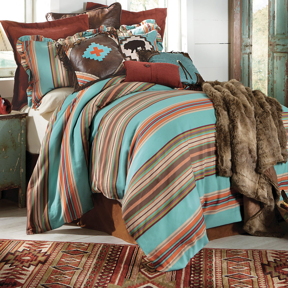 Cheyenne Stripes Bed Set - Super King