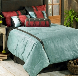 Cheyenne Turquoise Bedding Collection