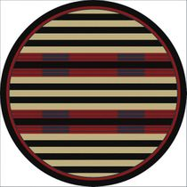 Chief Stripe Rug - 8 Ft. Round