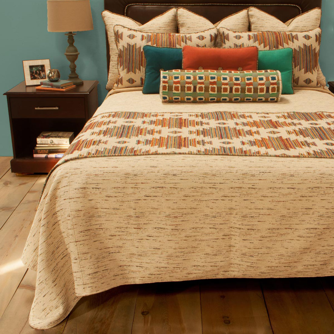 Cicero Reversible Coverlet - King Plus