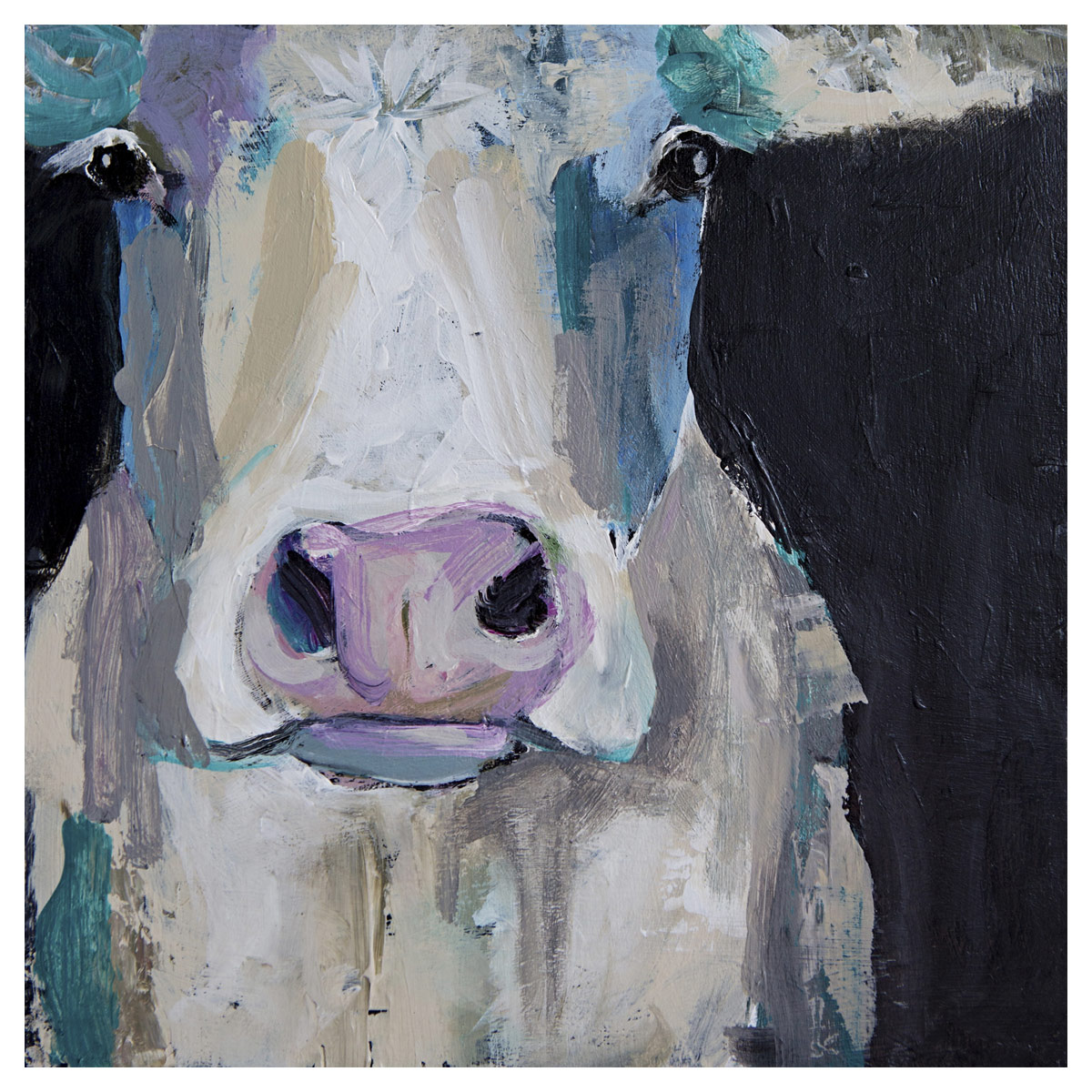 Clarabelle the Cow Canvas Art