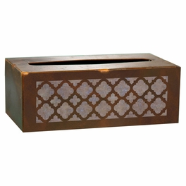 Classic Steel Tissue Covers and Waste Basket