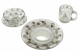 Clear Rope and Brands Dinnerware