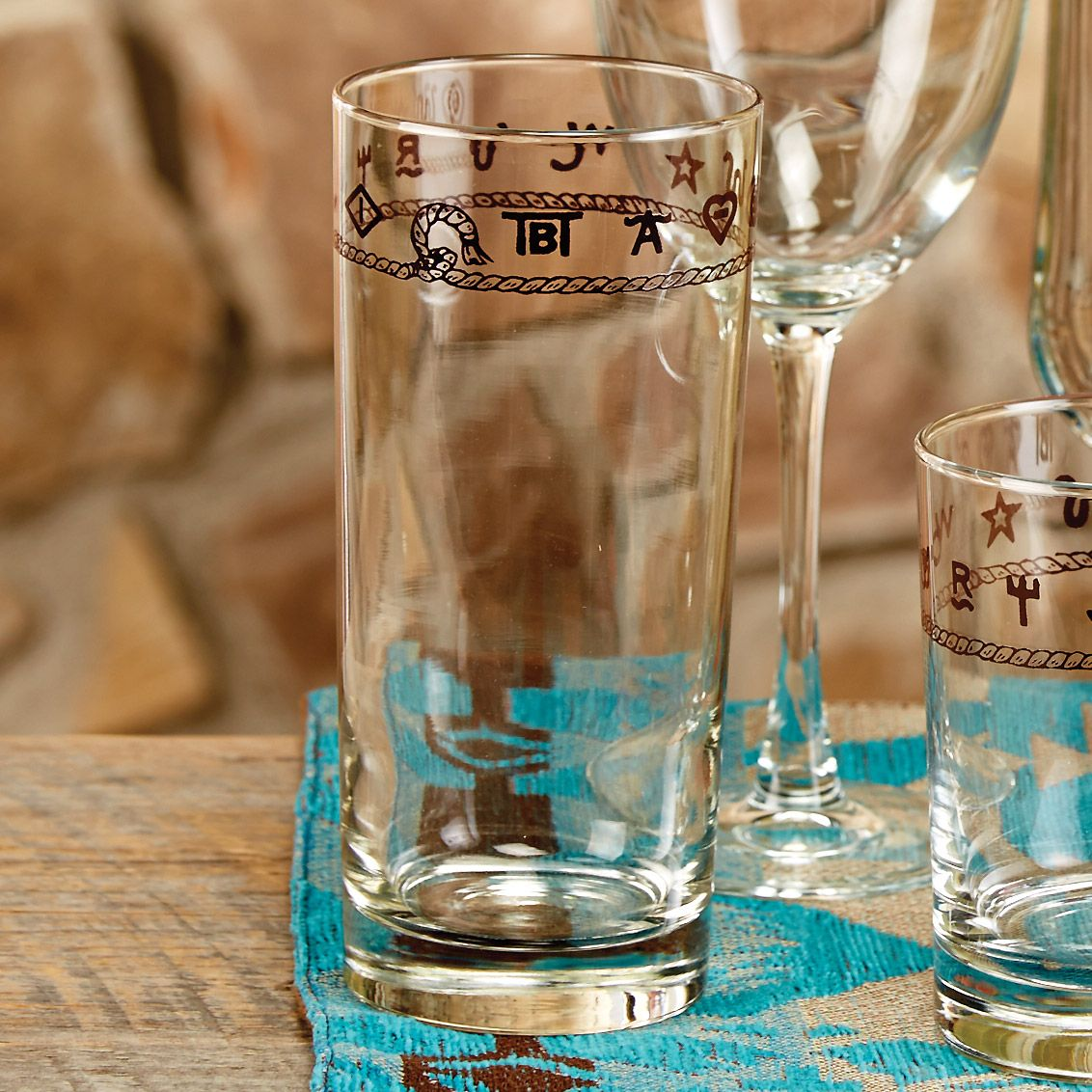 Rope & Brands Water Glasses - Set of 4