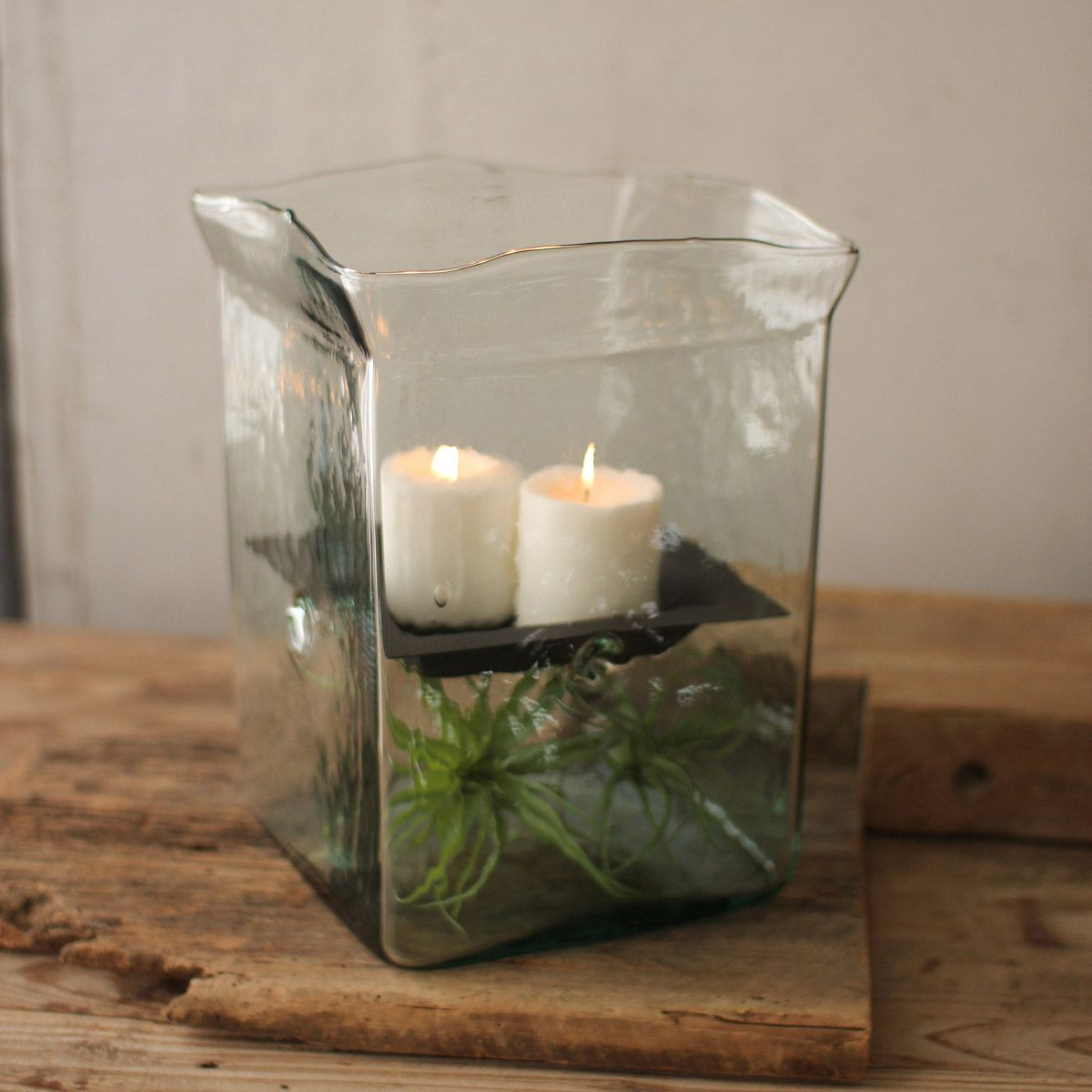 Clearwater Hurricane Candle Holder - Large