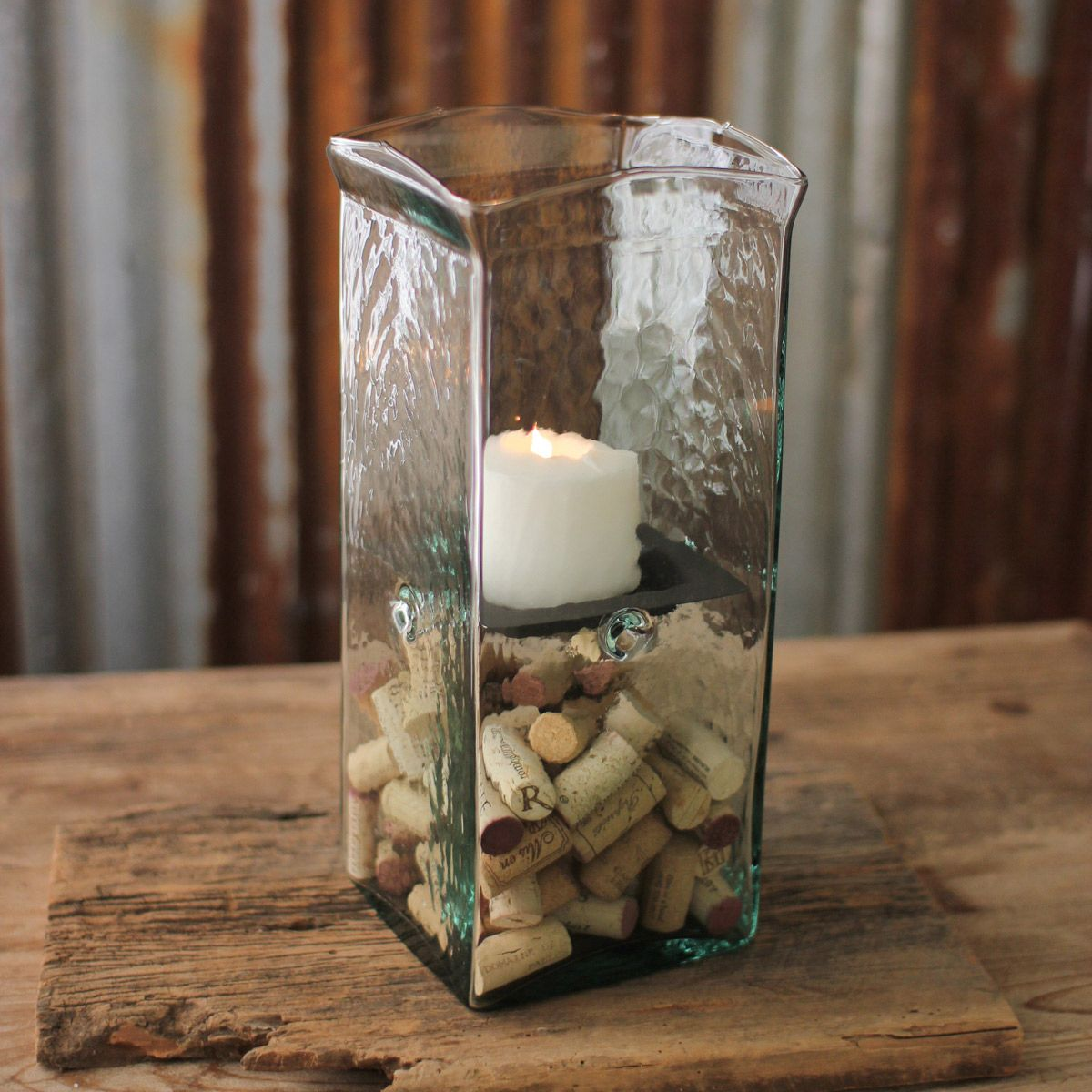 Clearwater Hurricane Candle Holder - Small