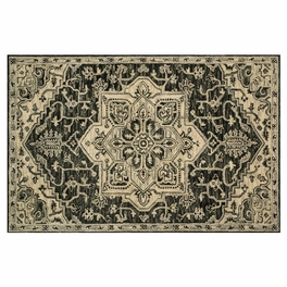 Clementine Charcoal Rug Collection
